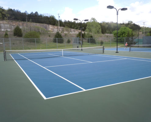Tennis Court Resurface - Branson, Missouri