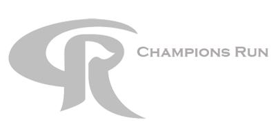 Champions Run Sports Courts Logo