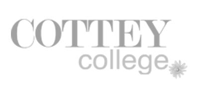 Cottey College Track Team Logo