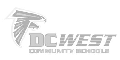 DC West Schools Track Team Logo