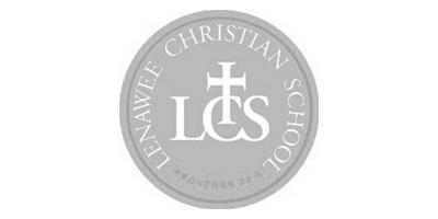 Lenawee Christian School Track Team Logo