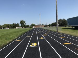 New Running Track Construction in Perham, Minnesota